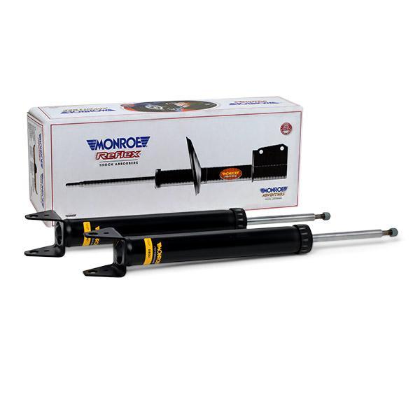 D8081 MONROE Gasdruck, Zweirohr, Dämpfer ohne Zuganschlagfeder, oben Stift, unten Gabel Stoßdämpfer D8081 günstig kaufen