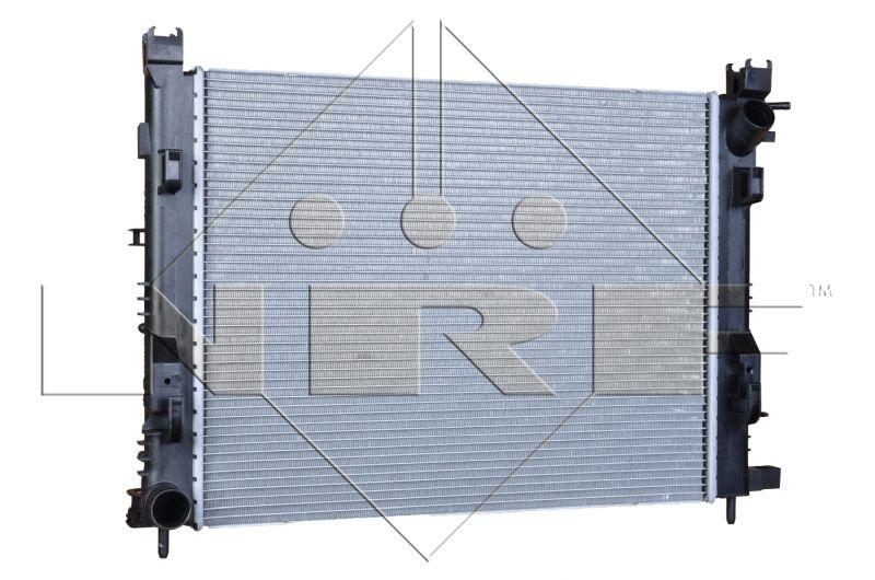 58443 NRF Kühlrippen gelötet, Aluminium Kühler, Motorkühlung 58443 günstig kaufen