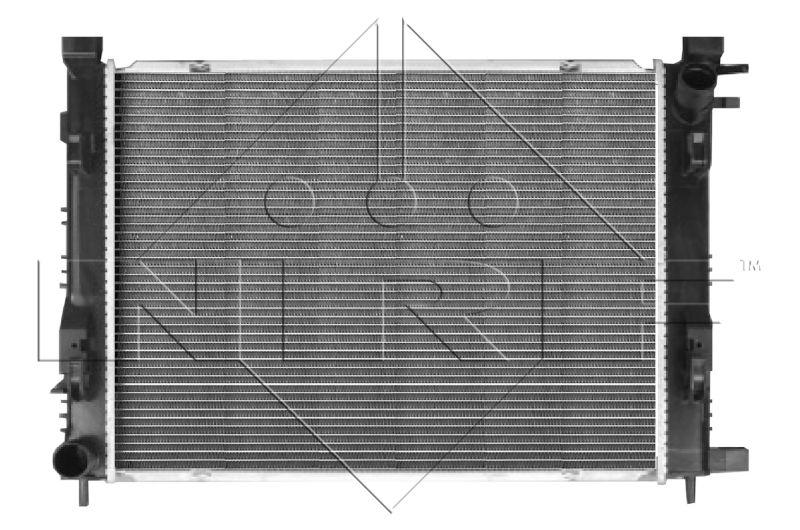 58444 NRF Kühlrippen gelötet, Aluminium Kühler, Motorkühlung 58444 günstig kaufen