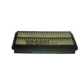 A1752 PURFLUX Länge: 274mm, Breite: 164mm, Höhe: 42mm Luftfilter A1752 günstig kaufen