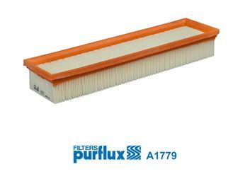 A1779 PURFLUX Filtereinsatz Länge: 334mm, Breite: 92mm, Höhe: 49mm Luftfilter A1779 günstig kaufen