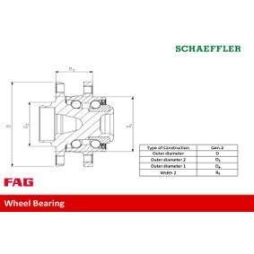 713 6109 90 Wheel Bearing Kit FAG Test