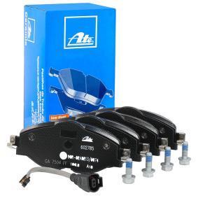 602785 ATE für Verschleißwarnanzeiger vorbereitet, inkl. Verschleißwarnkontakt, mit Bremssattelschrauben Höhe: 64,5mm, Breite: 160,0mm, Dicke/Stärke: 20,4mm Bremsbelagsatz, Scheibenbremse 13.0460-2785.2 günstig kaufen