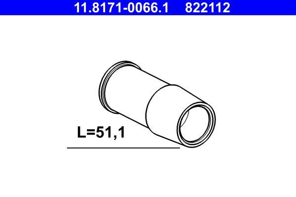 822112 ATE Führungshülse, Bremssattel 11.8171-0066.1 günstig kaufen