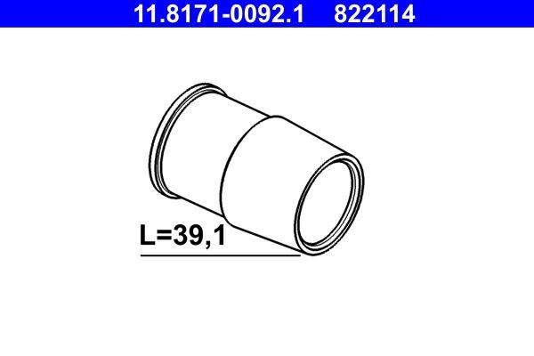 ATE: Original Bremsträger 11.8171-0092.1 ()