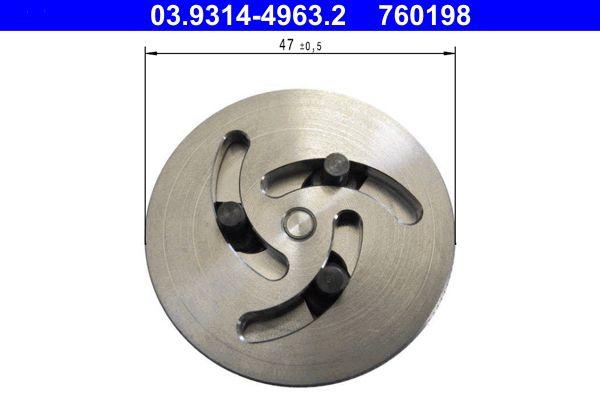 760198 ATE Adapter, Bremssattelkolben-Rückstellwerkzeug 03.9314-4963.2 günstig kaufen