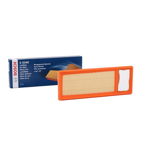 S0346 BOSCH Filter Insert Length: 359mm, Width: 131mm, Height: 37mm Air Filter F 026 400 346 cheap