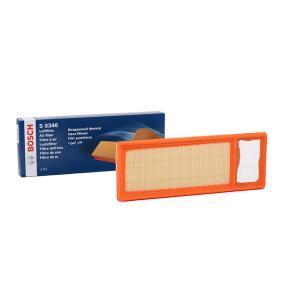 S0346 BOSCH Filtereinsatz Länge: 359mm, Breite: 131mm, Höhe: 37mm Luftfilter F 026 400 346 günstig kaufen