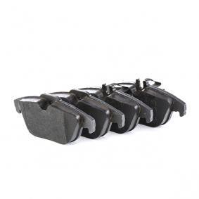 24254 TRW für Verschleißwarnanzeiger vorbereitet Höhe 1: 52,4mm, Höhe 2: 52,6mm, Dicke/Stärke: 17,6mm Bremsbelagsatz, Scheibenbremse GDB2051 kaufen