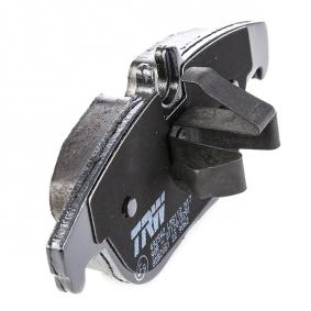 GDB2051 Bremsbelagsatz, Scheibenbremse TRW 24253 - Original direkt kaufen