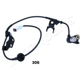 ABS306Capteur, vitesse de roue JAPANPARTS ABS-306 - Enorme sélection — fortement réduit