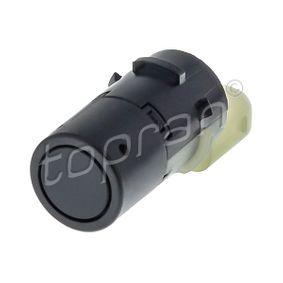 502 510 TOPRAN schwarz, Ultraschallsensor Sensor, Einparkhilfe 502 510 günstig kaufen