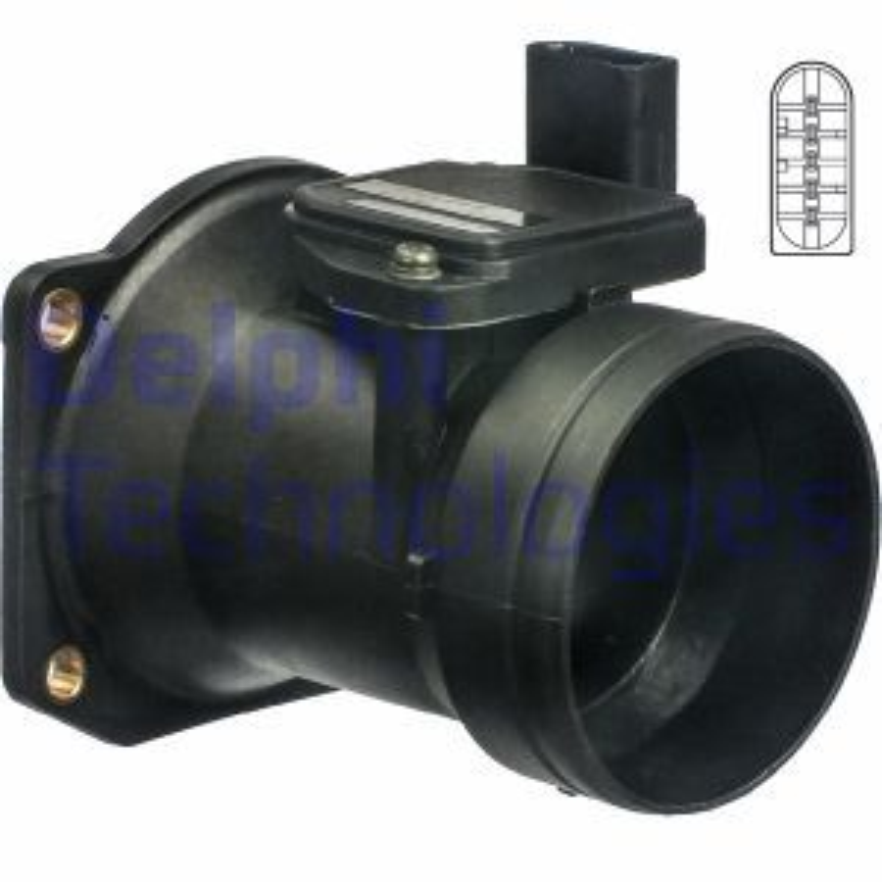 Original AUDI Luftmengenmesser AF10299-12B1