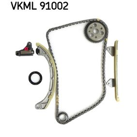 VKML 91002 SKF Kette geräuscharm, Kette geschlossen, Zahnkette Steuerkettenmaße: 6.35 Steuerkettensatz VKML 91002 günstig kaufen
