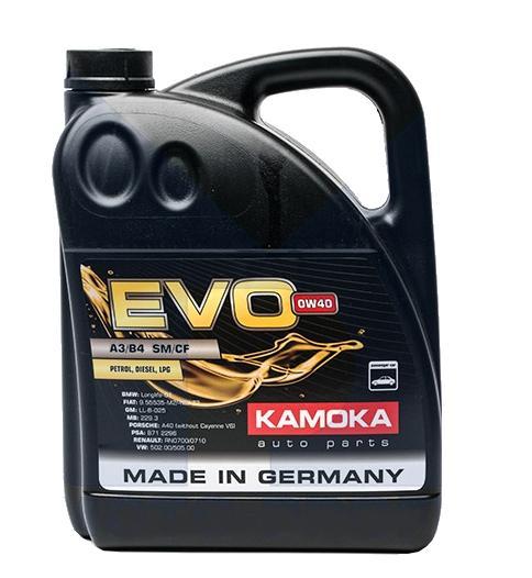 L005000401 KAMOKA EVO, A3/B4 0W-40, Inhalt: 5l Motoröl L005000401 kaufen