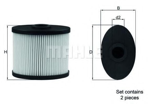 SOX 6/S D KNECHT Luftfilter für GINAF online bestellen