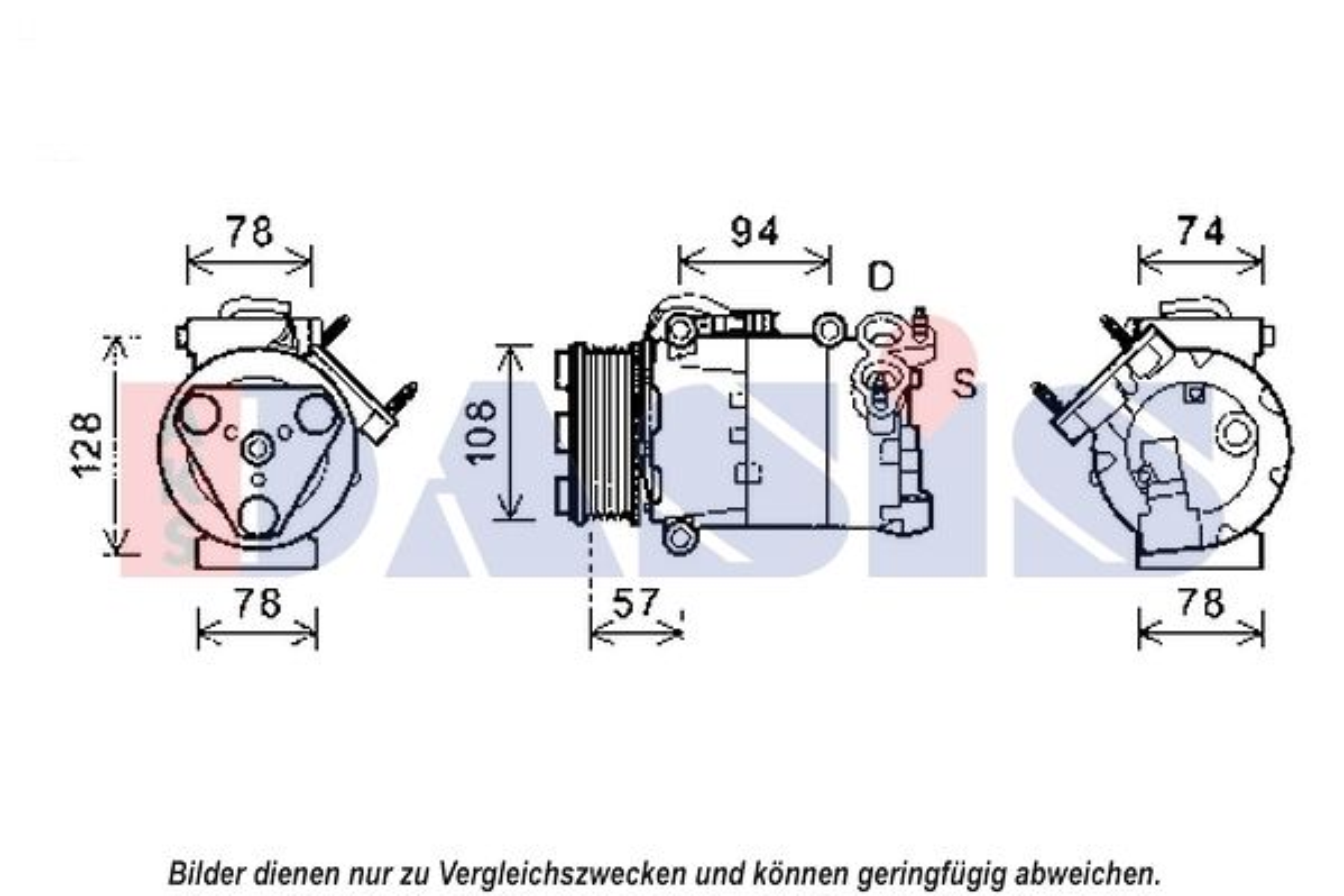 Klimakompressor AKS DASIS 852556N