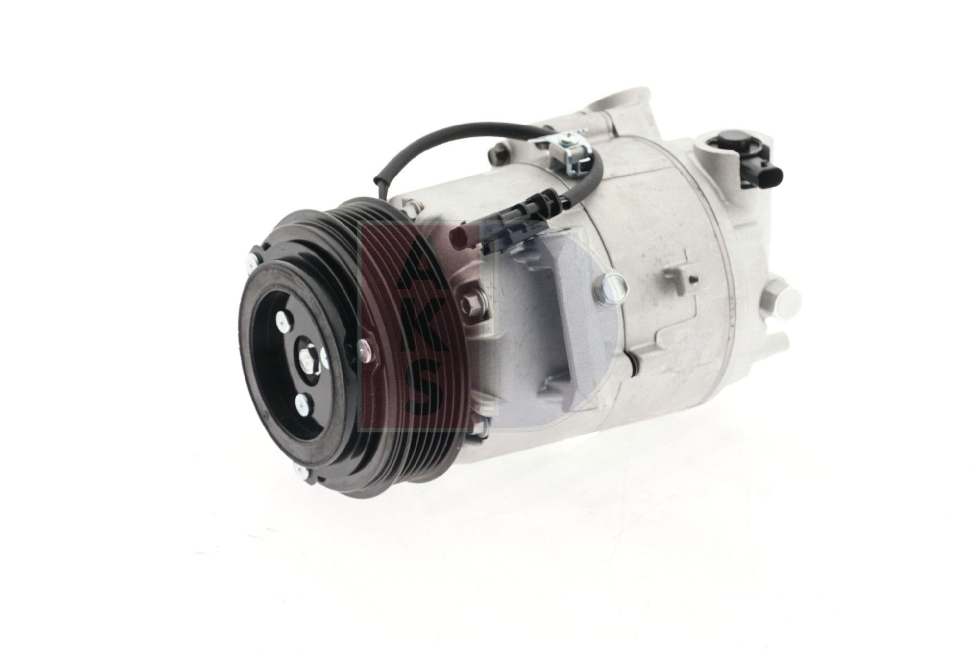 Kompressor Opel Zafira C Tourer 2017 - AKS DASIS 852687N (Riemenscheiben-Ø: 110mm)