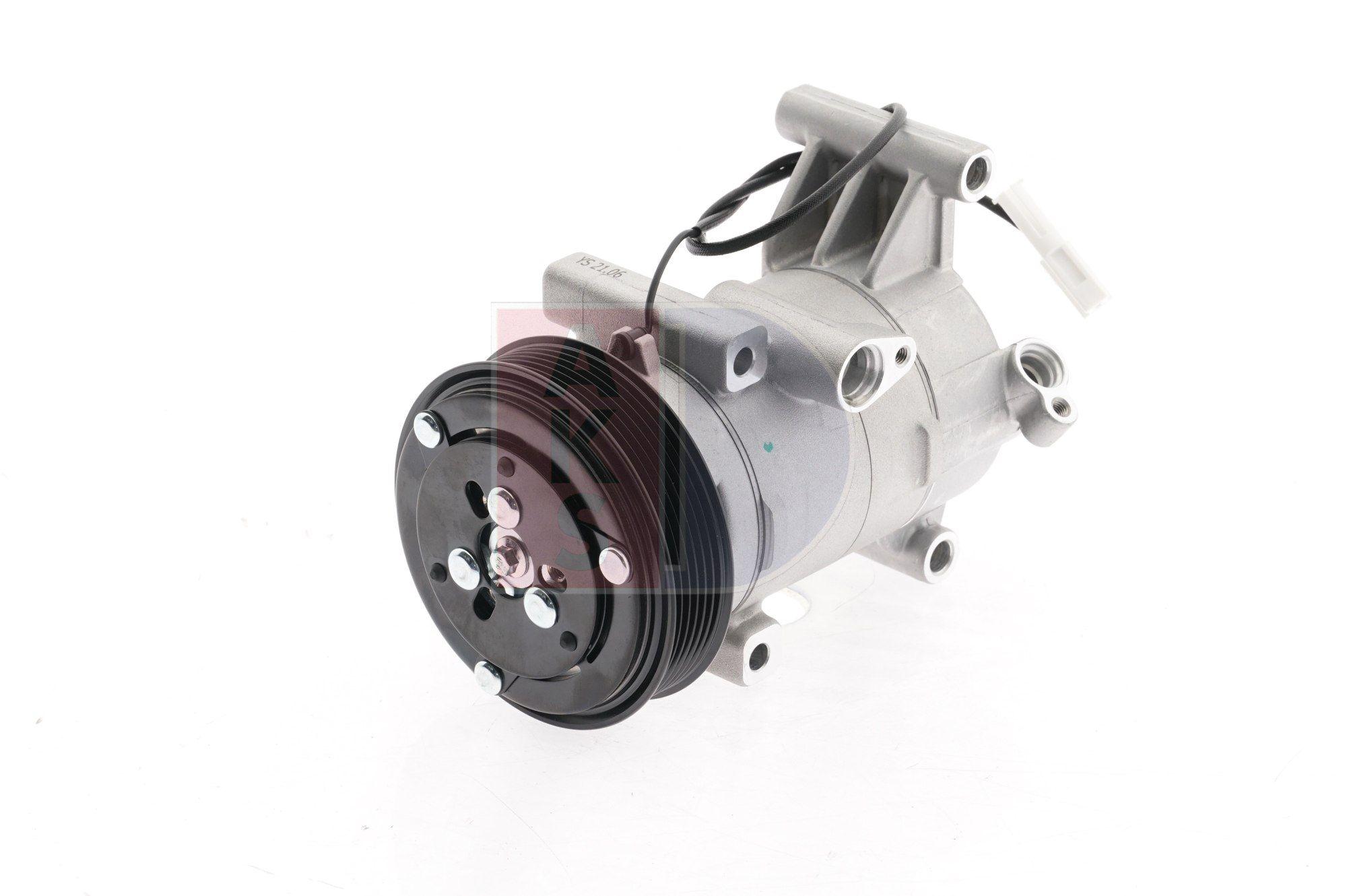 852775N AKS DASIS PAG 46, Kältemittel: R 134a, mit PAG-Kompressoröl Riemenscheiben-Ø: 116mm, Anzahl der Rillen: 6 Klimakompressor 852775N günstig kaufen