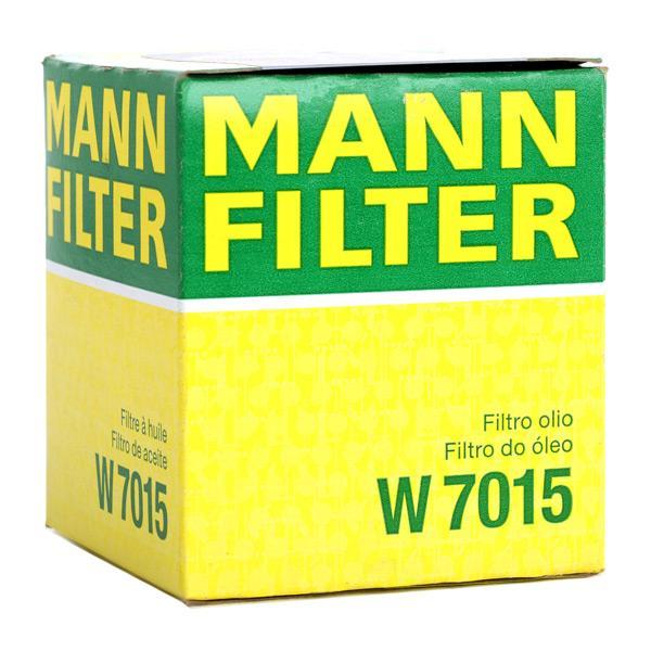 W7015 Ölfilter MANN-FILTER Erfahrung