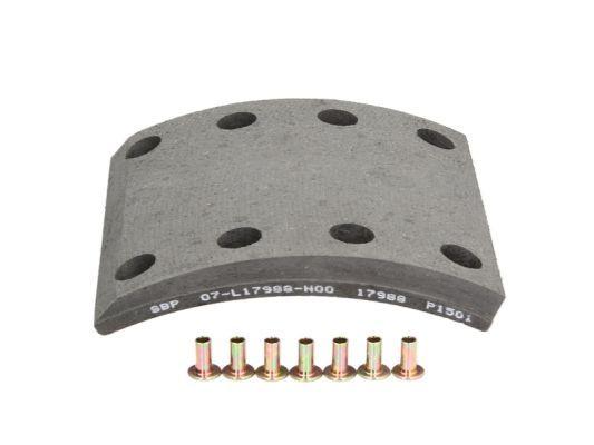 SBP Bremsbelagsatz, Trommelbremse für MAN - Artikelnummer: 07-L17988-N00
