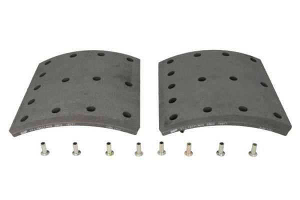 SBP Bremsbelagsatz, Trommelbremse für MAN - Artikelnummer: 07-L19071-N00
