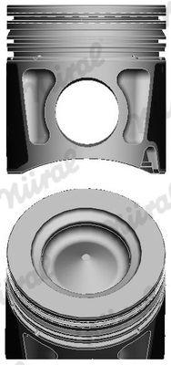 NÜRAL Piston for ASTRA - item number: 87-122000-00