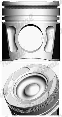 NÜRAL Piston for MAN - item number: 87-423000-00