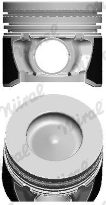 NÜRAL: Original Motor Kolben 87-431907-00 ()