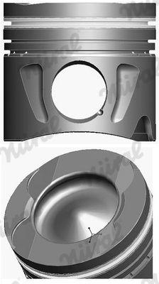 NÜRAL: Original Motor Kolben 87-433400-00 ()