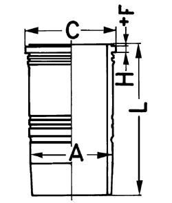 89390110 KOLBENSCHMIDT Cylinder Sleeve: buy inexpensively