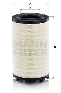 C 31 017 MANN-FILTER Luftfilter für SCANIA online bestellen