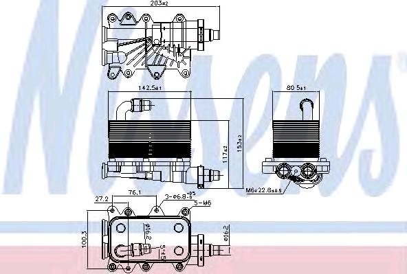 Маслен радиатор за автоматична скоростна кутия 90673 купете онлайн денонощно