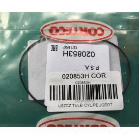 020853H Packning, cylinderfoder CORTECO 020853H Stor urvalssektion — enorma rabatter