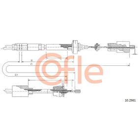 Achetez et remplacez Tirette à câble, commande d'embrayage 10.2961