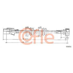 92S31011 COFLE Tachowelle S31011 günstig kaufen