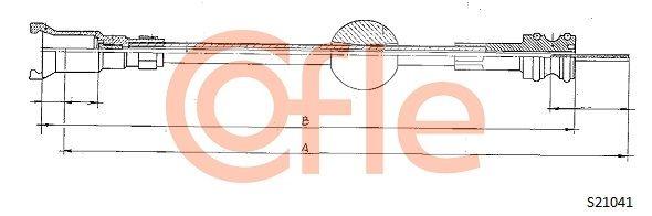 Hastighetsmätarwire S21041 COFLE — bara nya delar
