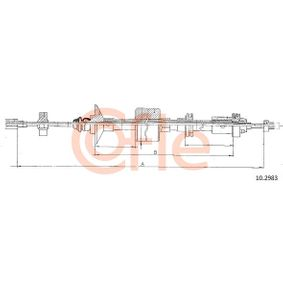 Achetez et remplacez Tirette à câble, commande d'embrayage 10.2983