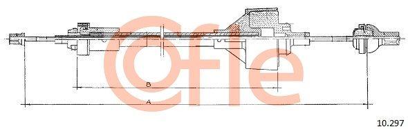 Kupplungsseilzug COFLE 10.297