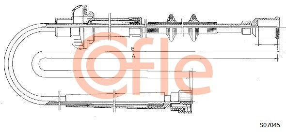 Hastighetsmätarvajer S07045 COFLE — bara nya delar