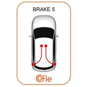 10.4712 Vajer, parkeringsbroms COFLE Test