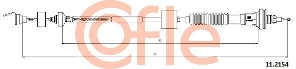 COFLE Seilzug, Kupplungsbetätigung 11.2154