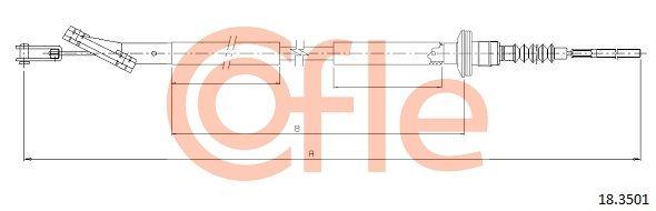 COFLE: Original Kupplungsseilzug 18.3501 ()