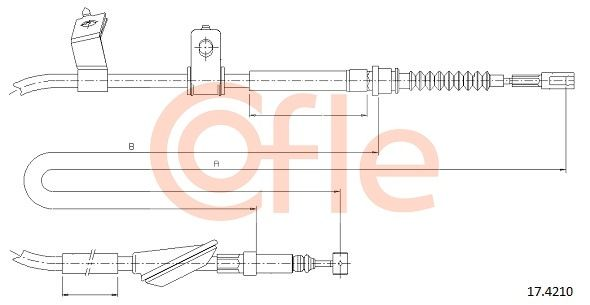 Buy original Emergency brake COFLE 17.4210