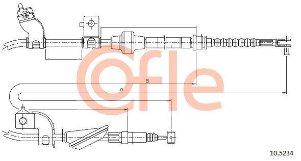 Buy original Handbrake kit COFLE 10.5234