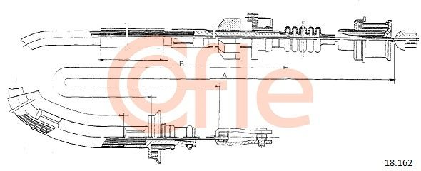 Kupplungsseilzug COFLE 18.162