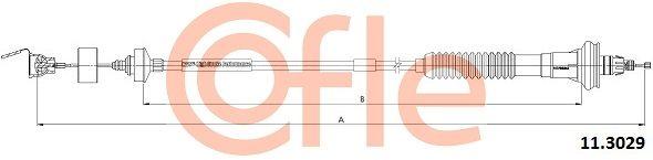 COFLE Seilzug, Kupplungsbetätigung 11.3029