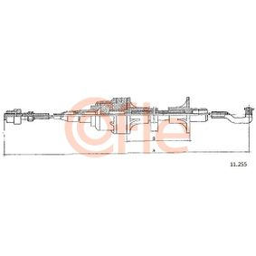 9211255 COFLE Länge: 795/518mm Seilzug, Kupplungsbetätigung 11.255 günstig kaufen