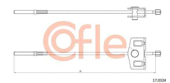 Handbremse COFLE 17.0324