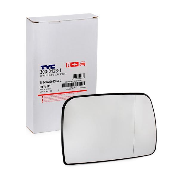 Außenspiegelglas TYC 303-0123-1
